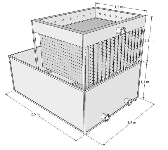 Панельный теплообменник аммиачный теплообменник большой